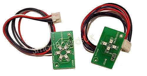 ERSTAZ Hoverboard Top LED BELEUCHTUNG - Swegway iohawk top LED Gehäuse Schale Batterie BELEUCHTUNG