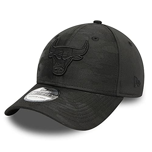 New Era Gorra 39Thirty Stretch – Chicago Bulls Black Camo S/M