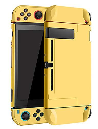 Boîtier Dockable pour Nintendo Switch Housse de protection de transport rigide Boîtier pour Nintendo Switch Console Joy Con Controller Jaune