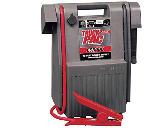 Why Choose Truck Pac Industrial-Grade 12 Volt Jump Starter - 3,000 Peak Amps, Model Number ES6000
