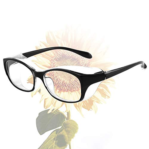 Anti Fog Safety Glasses Blue Light Blocking Glasses for Women Anti Pollen Safety Goggles UV400 Protection