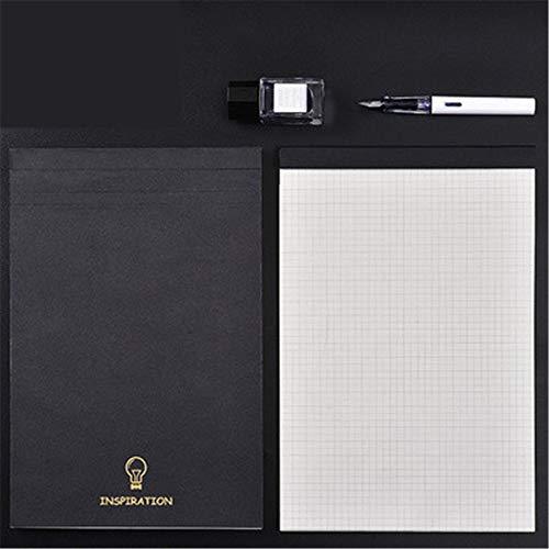 Cuadrícula A5 del libro cuadrado A5 Este cuaderno Cornell Cuaderno geométrico A4 Diseño de tela escocesa Mapa mental de papel B5 (6PCS cuadrado)