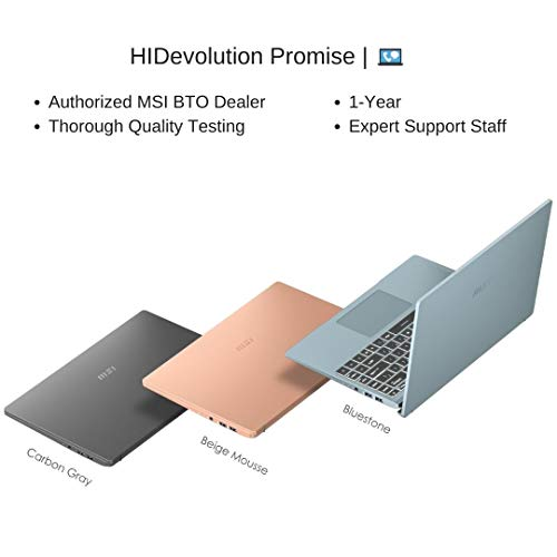 Compare HIDevolution MSI Modern 14 B11SB (MS-Modern14083-HID3) vs other laptops
