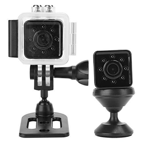 Asixxsix Cámara para Exteriores Mini cámara, cámara con Carcasa Impermeable, Sensor CMOS para Buceo, navegación, Surf, natación