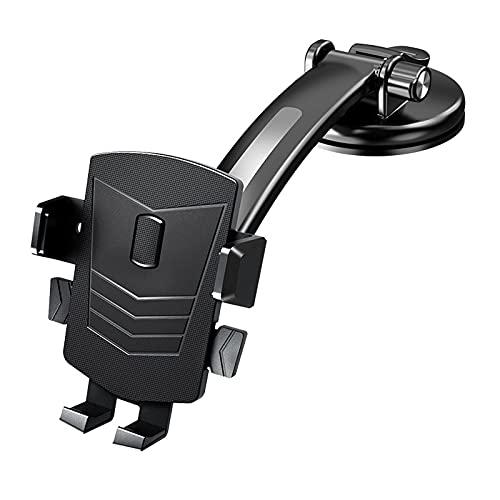 Soporte de teléfono para coche universal de ventilación de aire clip manos libres para coche Dash parabrisas ventilación varilla larga diamante clip