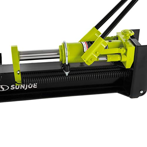 Sun Joe LJ10M 10-Ton Hydraulic Log Splitter, Green
