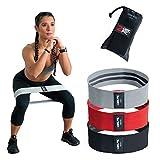2GetFit-Resistance Bands (3er-Set), Theraband, kraftraining, Übungsbänder zum Trainieren, Trainingsbänder für Beine und Po, kraftraining, Gesäßbänder.