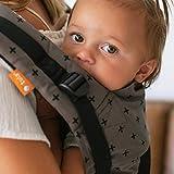 Tula Standard Coast Mason - Portabebé ergonómico para bebés de 7 a 20,4 kg, o desde 3,2 kg con cojín bebé