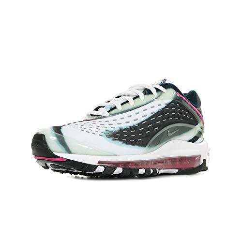 Nike Air Max Deluxe, Scarpe da Fitness, Multicolore (Enamel Green/Metallic Silver/Obsidian 301), 38 EU