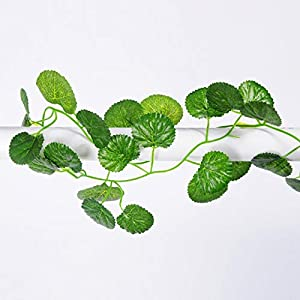 Jing Ger Artificial Ivy Plants Creeper Hanging Garland Flowers Vine for DIY Home Wedding Floral Wall Garden Fence Decor Fake Flowers
