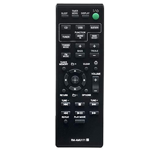 VINABTY RM-AMU171 Telecomando adatto per Sony Home Cinema Blu-Ray CMT-BT60 CMT-BT60B CMT-BT80W CMT-BT80WB CMT-SBT100 CMT-SBT100B CMT-SBT300W CMT-SBT300WB