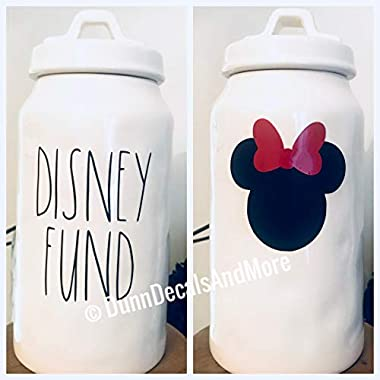 Gustave Disney Fund Decals