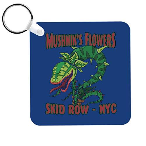 Cloud City 7 Mushniks Flowers Skid Row NYC Little Shop of Horrors Keyring