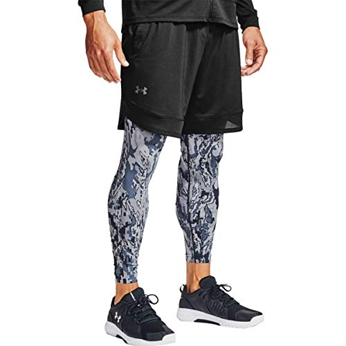 Under Armour Train Stretch Short Pantalones Cortos, Hombre, Black / / Pitch Gray (001), XS