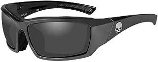 Men's Tat Skull Gasket Sunglasses, Gray Lenses & Frames HATAT02