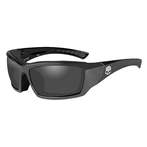 Harley-Davidson Mens Tat Skull Gasket Sunglasses, Gray ...