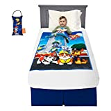 Franco Bedding Super Soft Plush Kids Weighted Blanket with Door Knob Pillow, 36' x 48' 4.5lbs, Paw Patrol