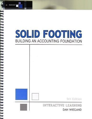 Solid Footing - Building an Accounting Foundation (Interactive Learning)