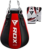 RDX MMA Maize Uppercut Punch Bag Boxing Filled Heavy Kickboxing Grappling Muay Thai Sparring Training Gloves Hanging Chain