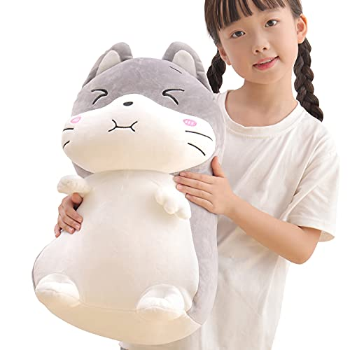 15.7' Hamster Stuffed Animal Plush Toy,Cute Anime Body Soft Pillow Doll Kawaii Mouse Plushies,Great Gift for Kids Birthday,Valentine