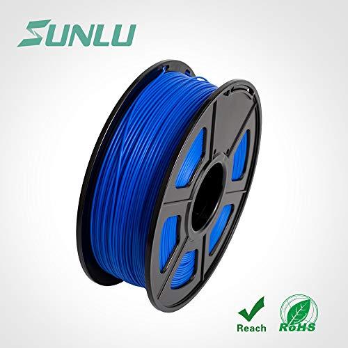 SUNLU 3D Pen Printer Filament Refills PLA 1.75 mm, Dimensional Accuracy +/- 0.02mm, 1KG (Blue)