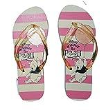 Disney Winnie The Pooh Flip Flop Pink & White Summer UK 5-6(Medium)