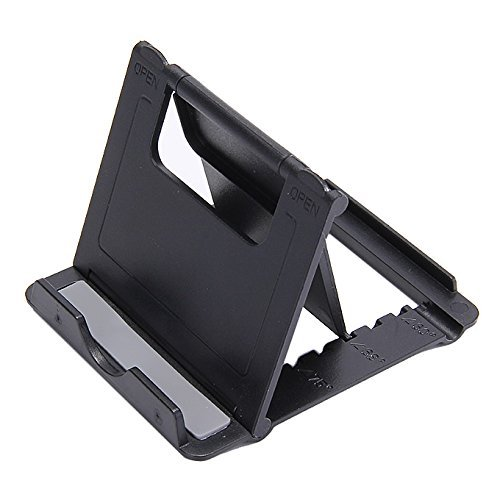 IRONFIX® Big Square Pocket Multi Angle Mobile Stand Phone Holder for Mobile Phones, Tablets and E-Readers,Mobile Holder for Table,Bed,Table Mobile Stand Holder(Colour May Vary)