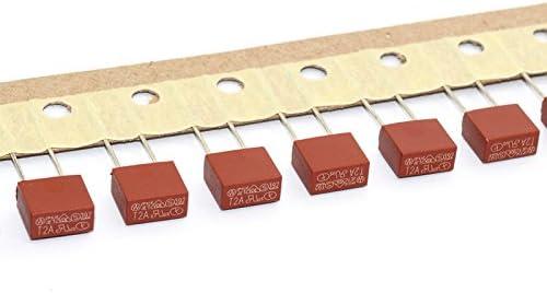 Hxchen 20Pcs 250V 2A T2A TR5 Miniature Slow Blow Micro Fuse