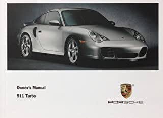 Porsche 2001 911 Turbo Owners Manual: Drivers Manual (996)