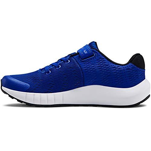 UNDER ARMOUR Unisex-Youth Pre School Pursuit BP Alternate Closure Sneaker, Royal (401)/White, 2.5