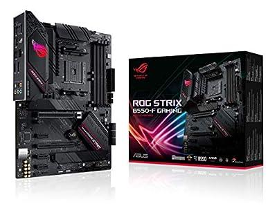ASUS ROG Strix B550-F Gaming AMD AM4 Zen 3 Ryzen 5000 & 3rd Gen Ryzen ATX Gaming Motherboard (PCIe 4.0, 2.5Gb LAN, BIOS Flashback, HDMI 2.1, Addressable Gen 2 RGB Header and Aura Sync)