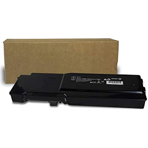 Professor Color Re-Coded OEM Toner Cartridge Replacement for Xerox Phaser 6600 and Xerox WorkCentre 6605 | 106R02228 - High Yield Black (8,000 Pages)