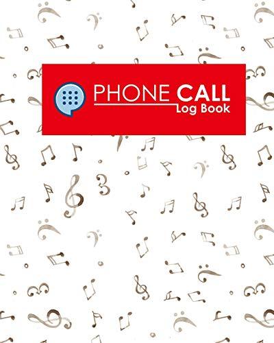 Phone Call Log Book: 2