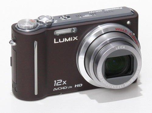 Panasonic Lumix DMC-TZ7 inkl. 2 Akkus+SDHC 8 GB|Tasche|MS|DS *Deutsch* ~ braun