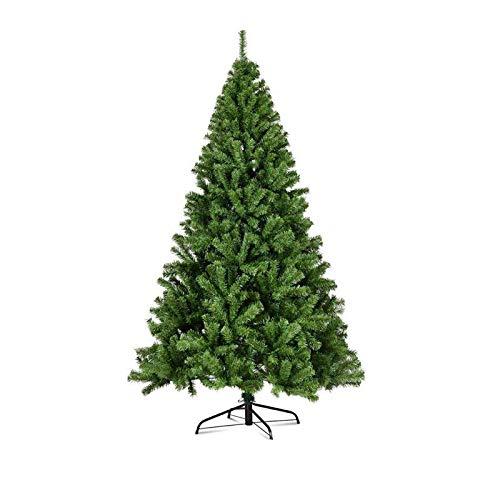General Packaging Klasyczna choinka realistyczne naturalne gałęzie zielona choinka [5FT/6FT/7FT/8FT/10FT] (5FT (150 cm)