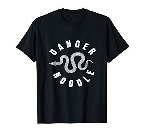 Danger Noodle I Serpiente Reptiles Terrario Serpientes Camiseta
