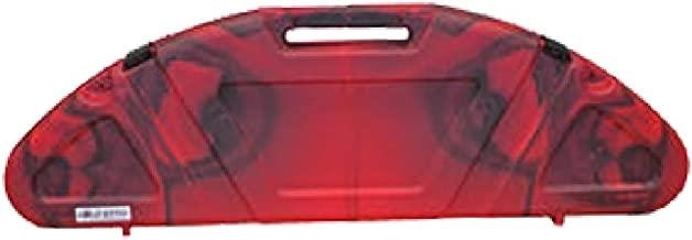 Custom Manufacturing Genesis Hard Bow Case Red/Black Swirl