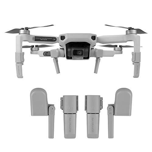 CUEYU Erweitertes Fahrwerk für DJI Mavic Mini Drone - Drone Fahrwerk Landefüße Faltbarer erhöhender Fahrwerk-Fuß-Haltewinkel-Schutz Kompatibel mit DJI Mavic Mini