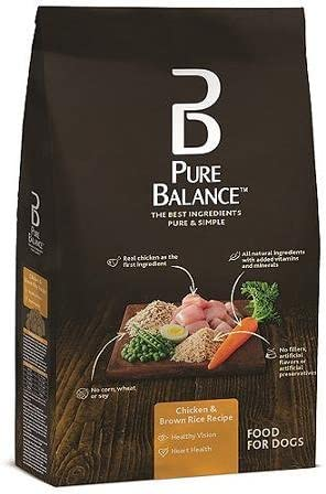 Pure Balance Dog Food, Chicken & Brown Rice Recipe, 15 lb by Pure Balance