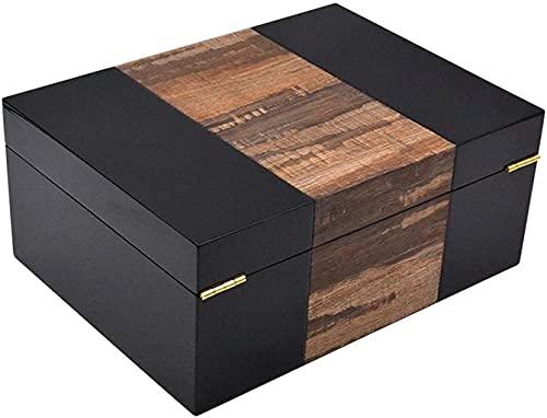 シガーヒュミドールシダーウッドヒュミドールメロウ木製ボックス大容量ヒュミドールキャビネット保湿シガーヒュミドール