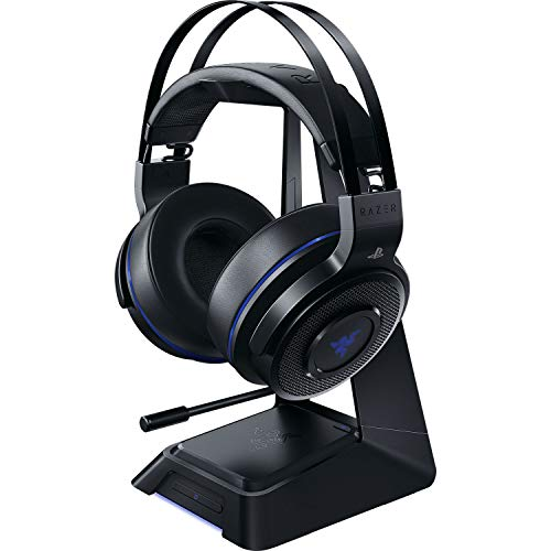 Razer Thresher Ultimate for PS4 (R) DOLBY + 7.1 サラウンド ワイヤレスヘッドセット PS4 PS5 【日本正規代理店保証品】RZ04-01590100-R3A1 10.39 x 19.61 x 21.41 cm