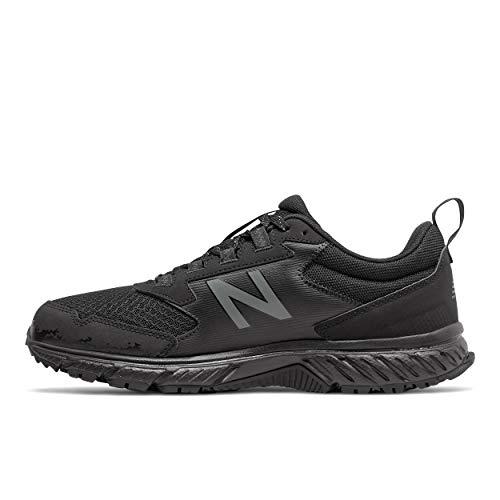 New Balance Men's 510 V5 Trail Running Shoe, Black/Castlerock, 13 M US