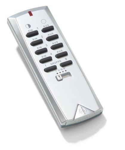Intertechno Smart Home Its150 Funk Handsender Fernbedienung kabellos, silber/grau