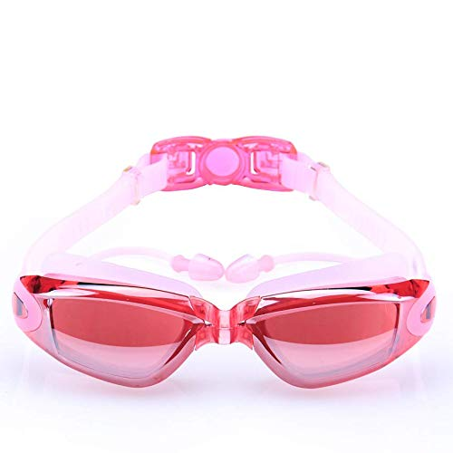 C-manual - Gafas de natación para hombre y mujer, polarizadas antirreflejos y antivaho con protección UV, gran campo de visión para adultos, para niño/niña/escuela secundaria y juvenil, natación, gafas de natación y equipos de natación, color 7., tamaño 10.2 x 22.9 x 5.1 cm