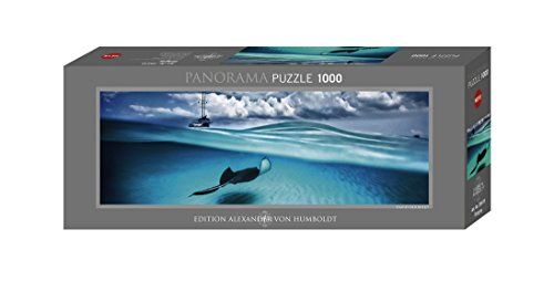 Unbekannt KV&H Verlag GmbH Stingray, 1000 Teile Panoramapuzzle Puzzle, Brown