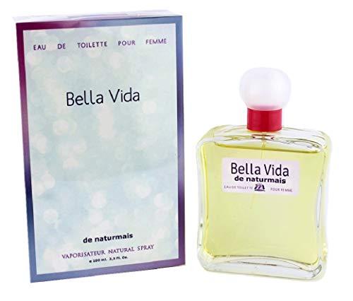Bella Vida Eau De Parfum Intense 100 ml, Perfume de Mujer. Compatible con La Vie Est Belle