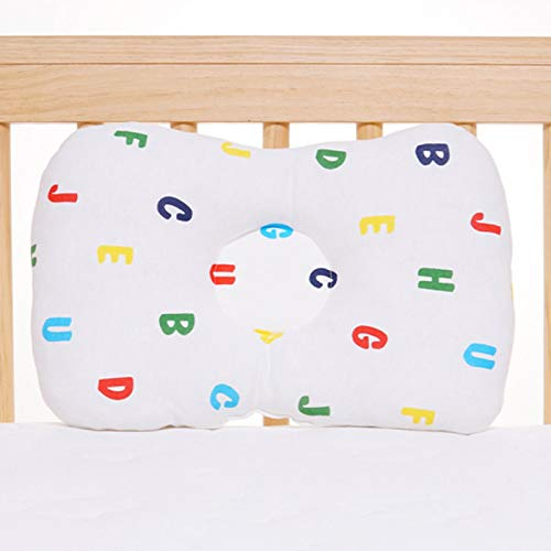 Yuhoo Baby Pillow Bedding Safe Anti ll Infant Head Protection Breathable Positioner Sleep Shaping Toddler Newborn Nursing Soft(Colorful Letters)