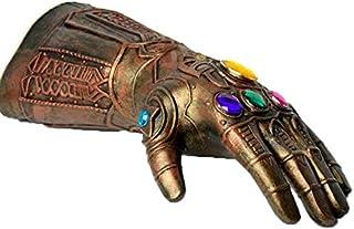 قفازات Thanos Gauntlet Marvel Avengers Infinity War Thanos المطاطية اللانفينيتي Cosplay Superhero Avengers Gloves Hallowee...