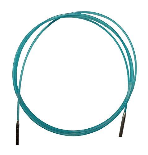HiyaHiya austauschbares Kabel, Nylon, klein, blau, 47/49-inch