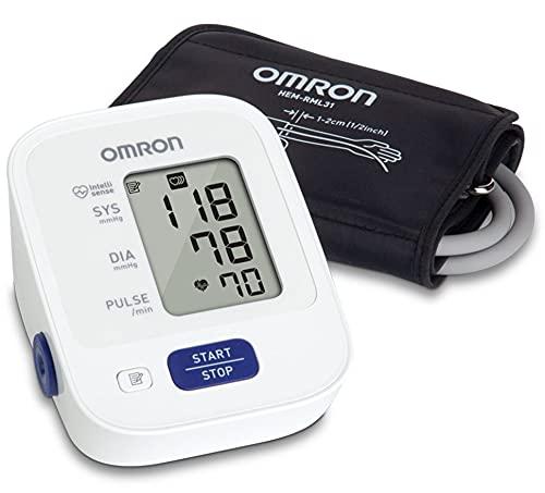 OMRON Bronze Blood Pressure Monitor, Upper Arm Cuff, Digital Blood...